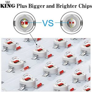 Best LED grow lights - King Plus grow light chips