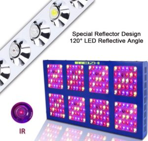 Best LED grow lights - MEIZHI LED grow lights - reflector
