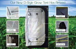 Best marijuana grow tents - Milliard D style grow tent