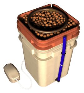 General Hydroponics WaterFarm Complete- marijuana hydroponic system