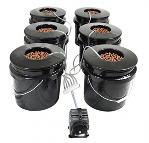 HTG Supply Bubble Brothers DWC hydroponic system - marijuana hydroponic system