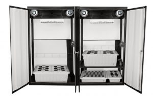 SuperTrinity LED Grow Cabinet - front